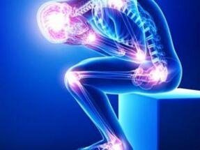 Ekslemine valu liigestega Peamised valu pohjused