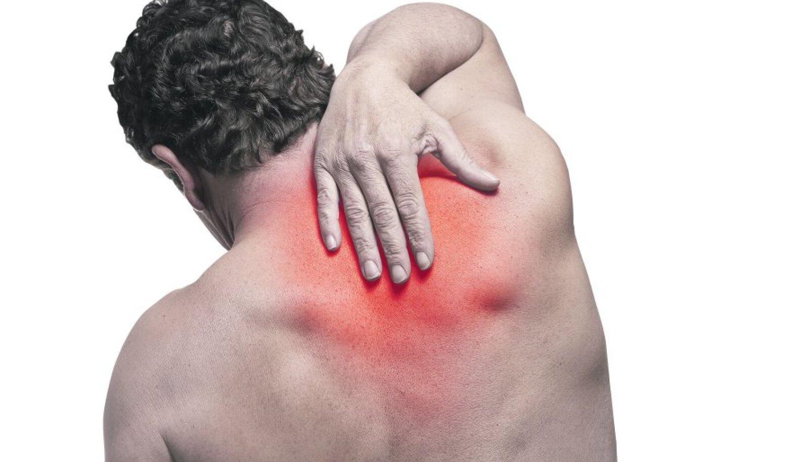 Salv lihas- ja liigesehaigusest 18-aastaselt on sormede liigesed haiget