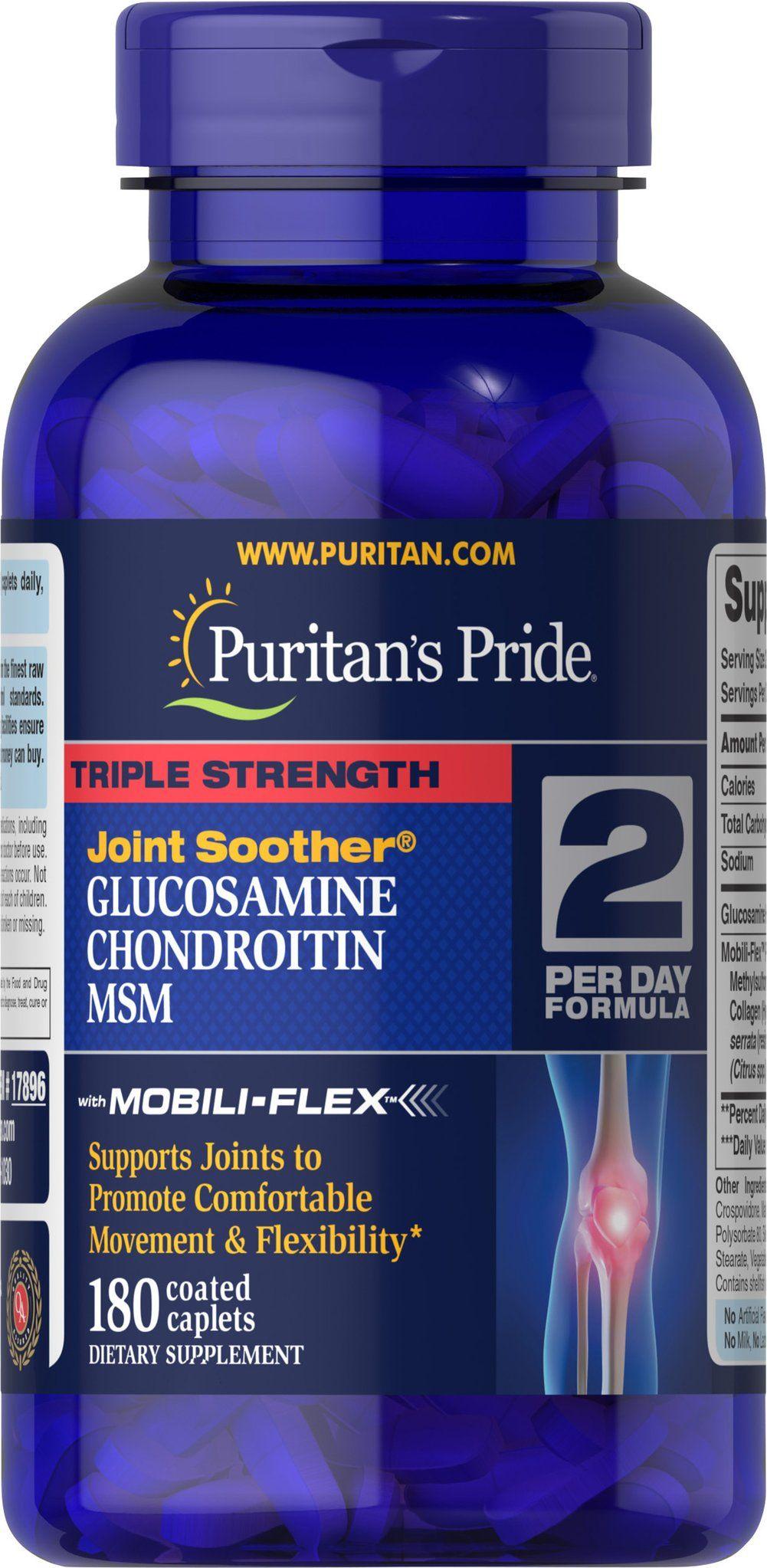 Glukoosamiini kondroitiin 180.